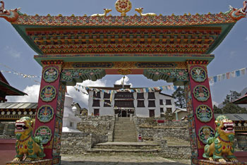 Thyangboche Gompa (Andy Norris)